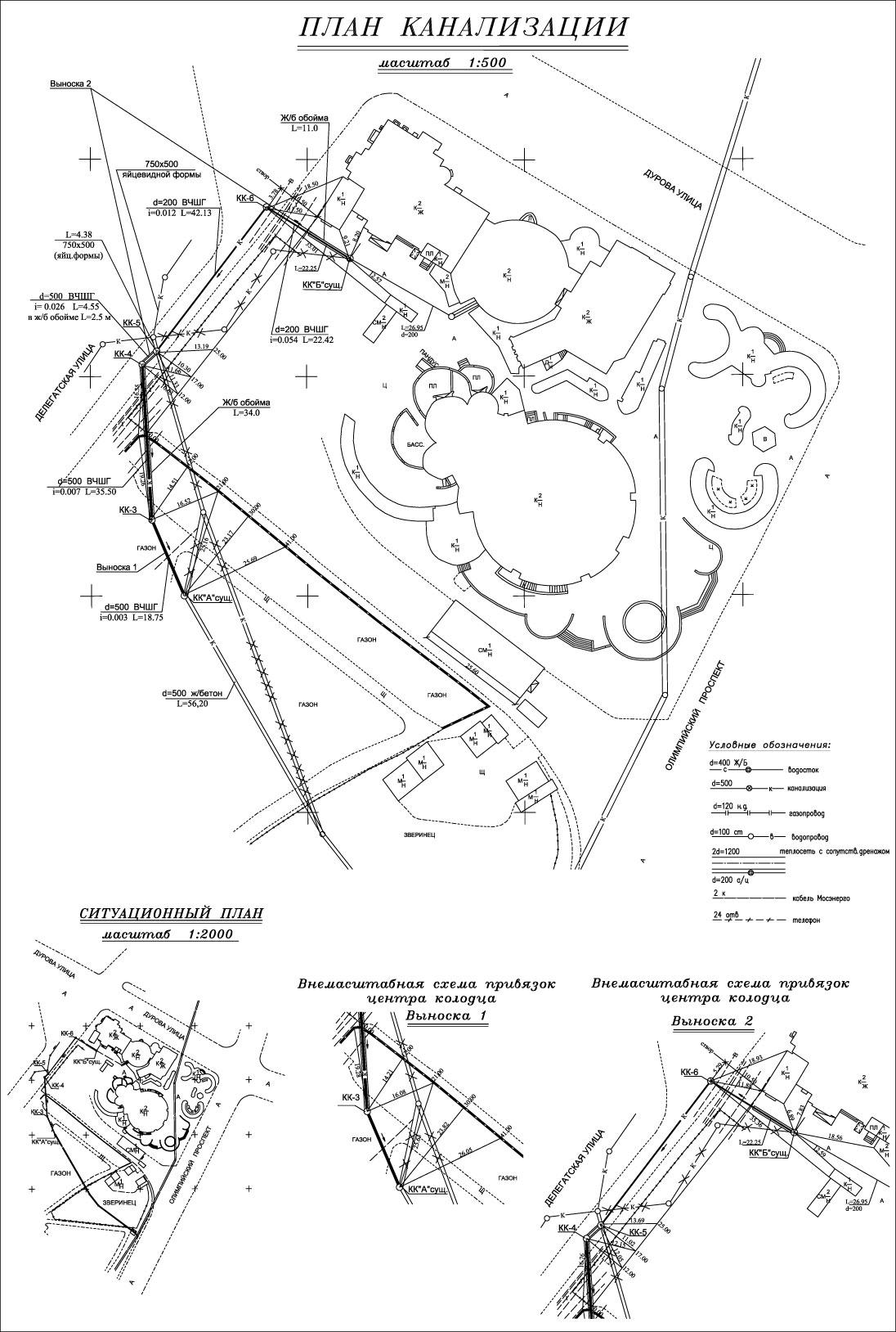 исполнительный чертеж и схема